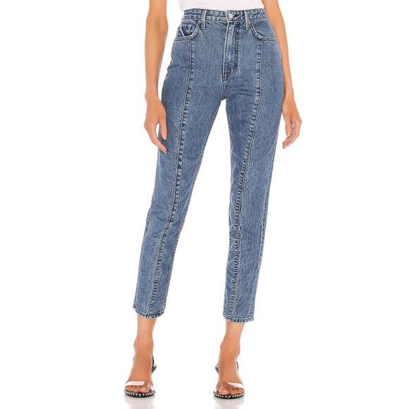 GRLFRND High Waisted Mom Jeans